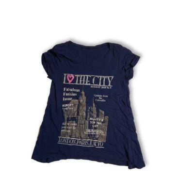 158-as kék városos lány póló