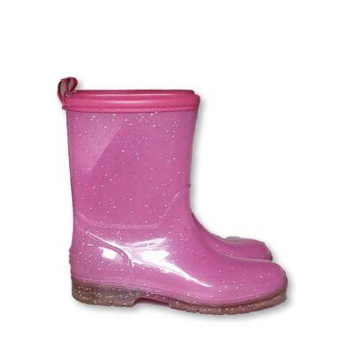 33-as rózsaszín csillogó gumicsizma - Wink