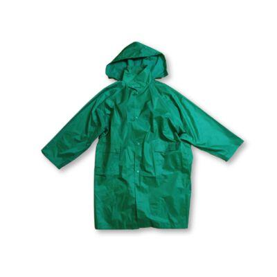 Felnőtt méretű zöld esőkabát
