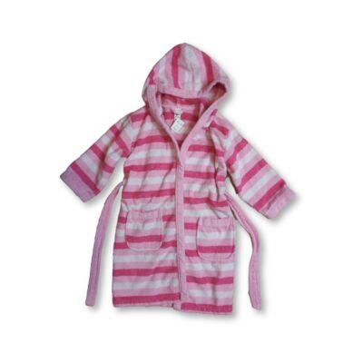 110-116-os rózsaszín csíkos köntös - C&A