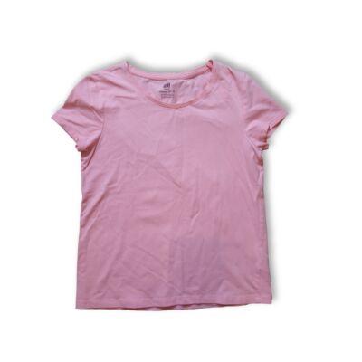 146-152-es rózsaszín póló - H&M