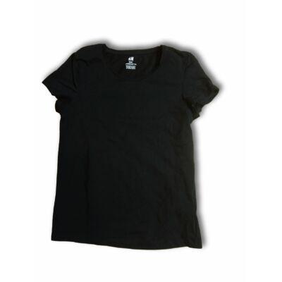 146-152-es fekete lány póló - H&M