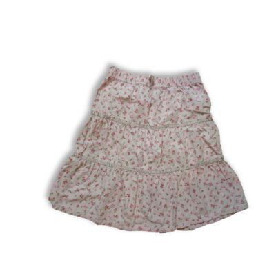 110-es rózsaszín virágos kordszoknya - Kute