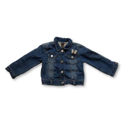 86-os kék masnis farmerdzseki - Zara