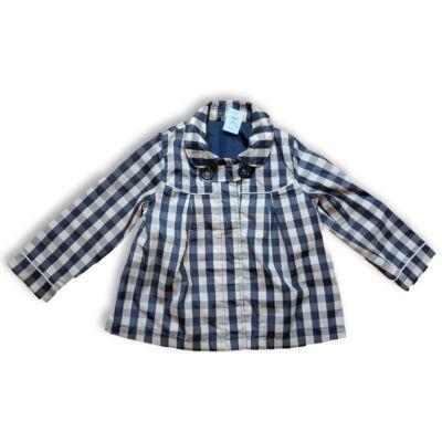 98-as kék-fehér kockás átmeneti kabát - George