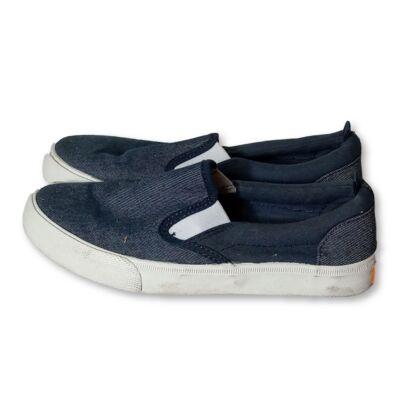 35-ös kék bebújós vászoncipő fiúnak - H&M