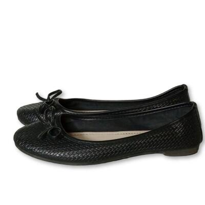 37-es fekete balerina, alkalmi cipő - Jenny Fairy
