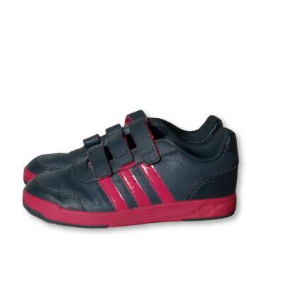 35-ös szürke-pink tépőzáras sportcipő - Adidas
