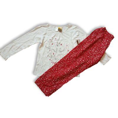 146-152-es fehér-piros pizsama - Csőrike - Zara