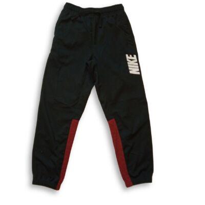 146-152-es fekete-bordó szabadidőalsó - Nike