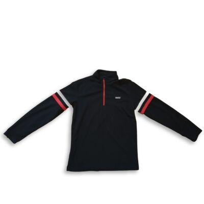 152-es fekete polár pulóver - Snoxx