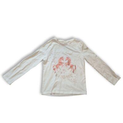 134-es fehér unikornisos pamutfelső - F&F