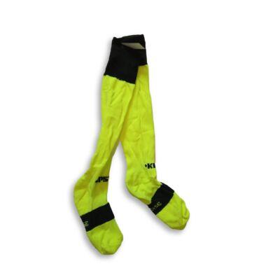 35-38-as uv-sárga focis zokni, sportszár - Kipsta, Decathlon
