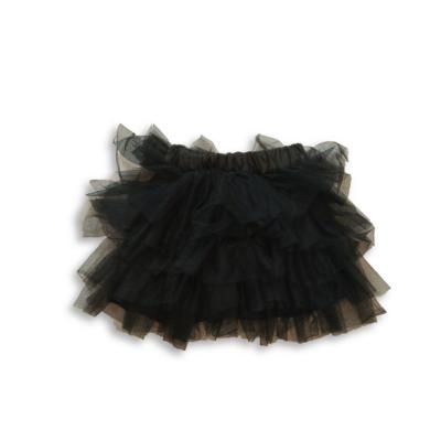134-140-es fekete tüllös szoknya - Pepco