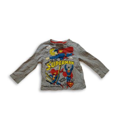 104-es szürke pamutfelső - Superman