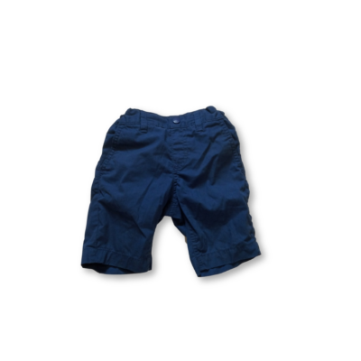 92-es kék vászonshort - C&A