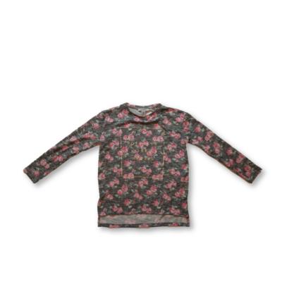 158-as szürke virágos vékony pulóver - Primark