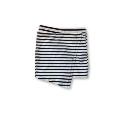 146-os fekete-fehér csíkos aszimmetrikus szoknya - Pepco