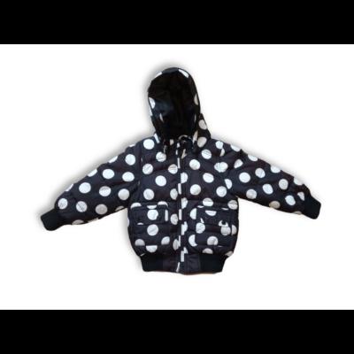 92-es fekete-fehér pöttyös télikabát - Name It