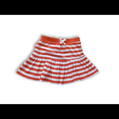 104-110-es piros-fehér csíkos szoknya - George