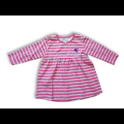 86-os rózsaszín-fehér csíkos ruha - Pepco
