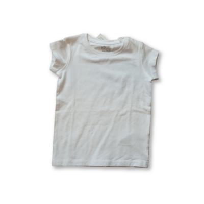 98-as fehér lány póló - Kiki & Koko - ÚJ