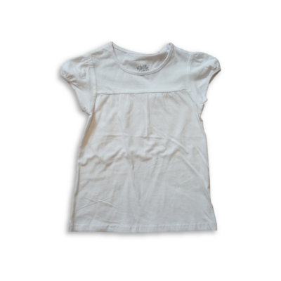 122-es fehér tunika jellgű póló - Kiki & Koko - ÚJ
