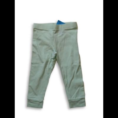 86-os zöld-fehér csíkos pamutnadrág lánynak - F&F
