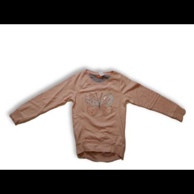 158-164-es rózsaszín pillangós pulóver - Next