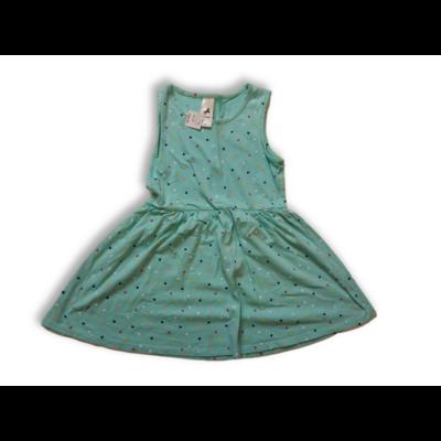 116-os zöld szívecskés pamutruha - C&A