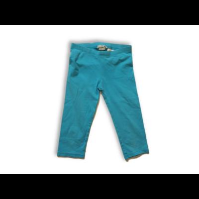 116-os türkizkék térdig érő leggings - H&M