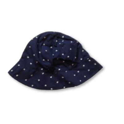 46-49 cm-es fejre kék szívecskés nyári kalap - H&M
