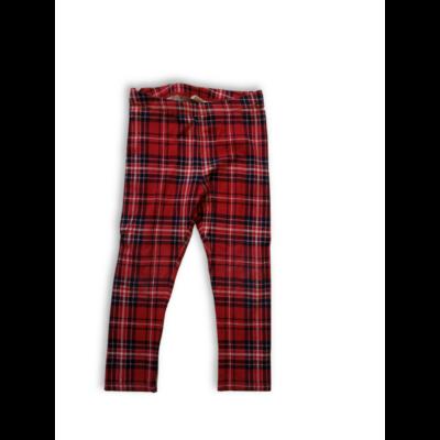 92-es piros kockás leggings - H&M