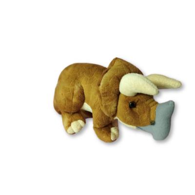 40 cm hosszúplüss rinocérosz, orrszavú