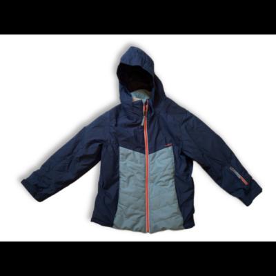 146-os kék lány télikabát - Wedze, Decathlon