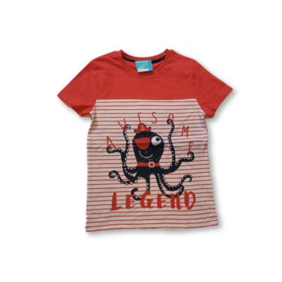 128-as piros polipos fiú póló - Pepco - ÚJ