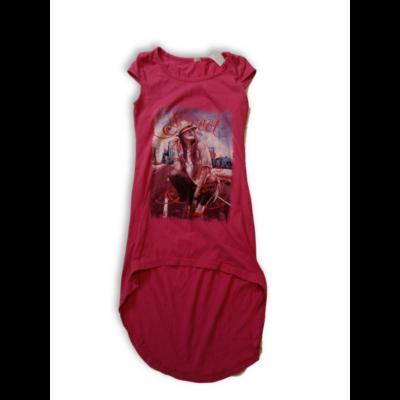 140-146-os pink lányos pamutruha
