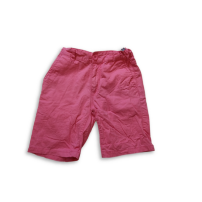 146-os rózsaszín vászon short