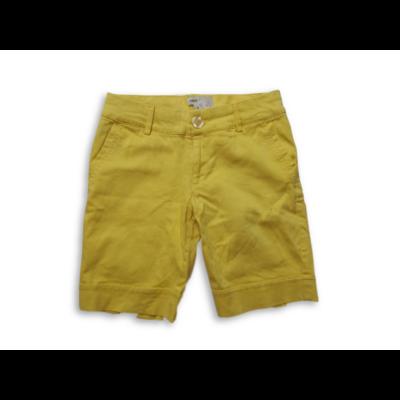 146-152-es sárga short, rövidnadrág