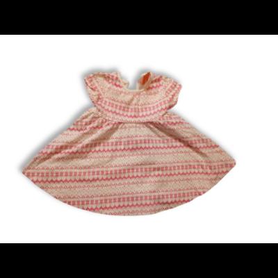 86-os fehér-rózsaszín mintás ruha - F&F