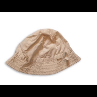 44-46 cm-es fejre fehér masnis nyári kalap