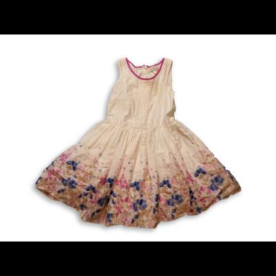122-es fehér virágos ruha - C&A