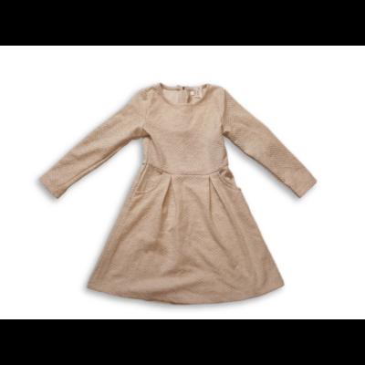 122-es szürke magában kockás vastagabb pamut ruha - Pepco