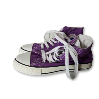 35-ös lila tonacipő, vászoncipő - Converse