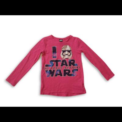 128-as pink feliratos pamutfelső - Star Wars