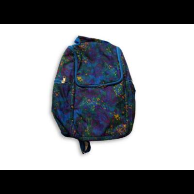 Kék mintás kisméretű hátizsák