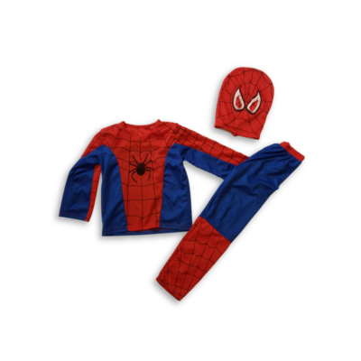 3 részes Spiderman, Pókember jelmez 4 évesre