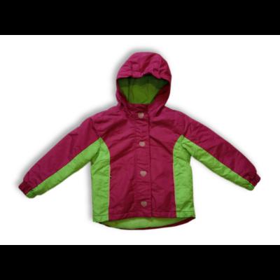 110-116-os pink-zöld télikabát - Lupilu