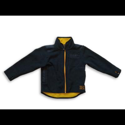 98-as kék-sárga polár kardigán - H&M