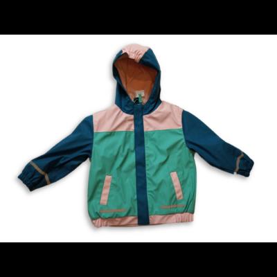104-110-es rózsaszín-kék esőkabát, átmeneti kabát - X-Mail